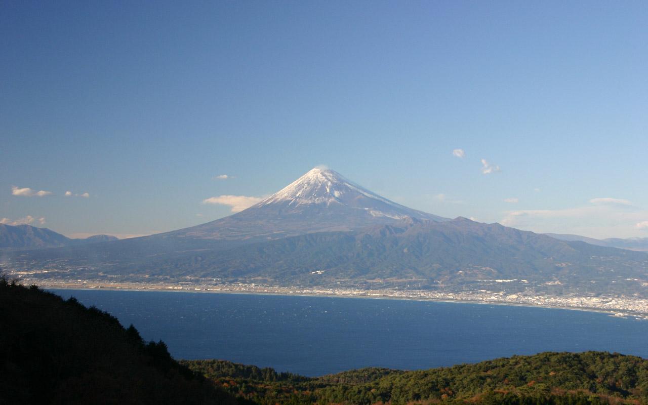 戸田峠からの富士山