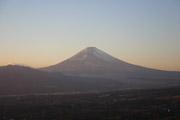 富士山の夕景の壁紙