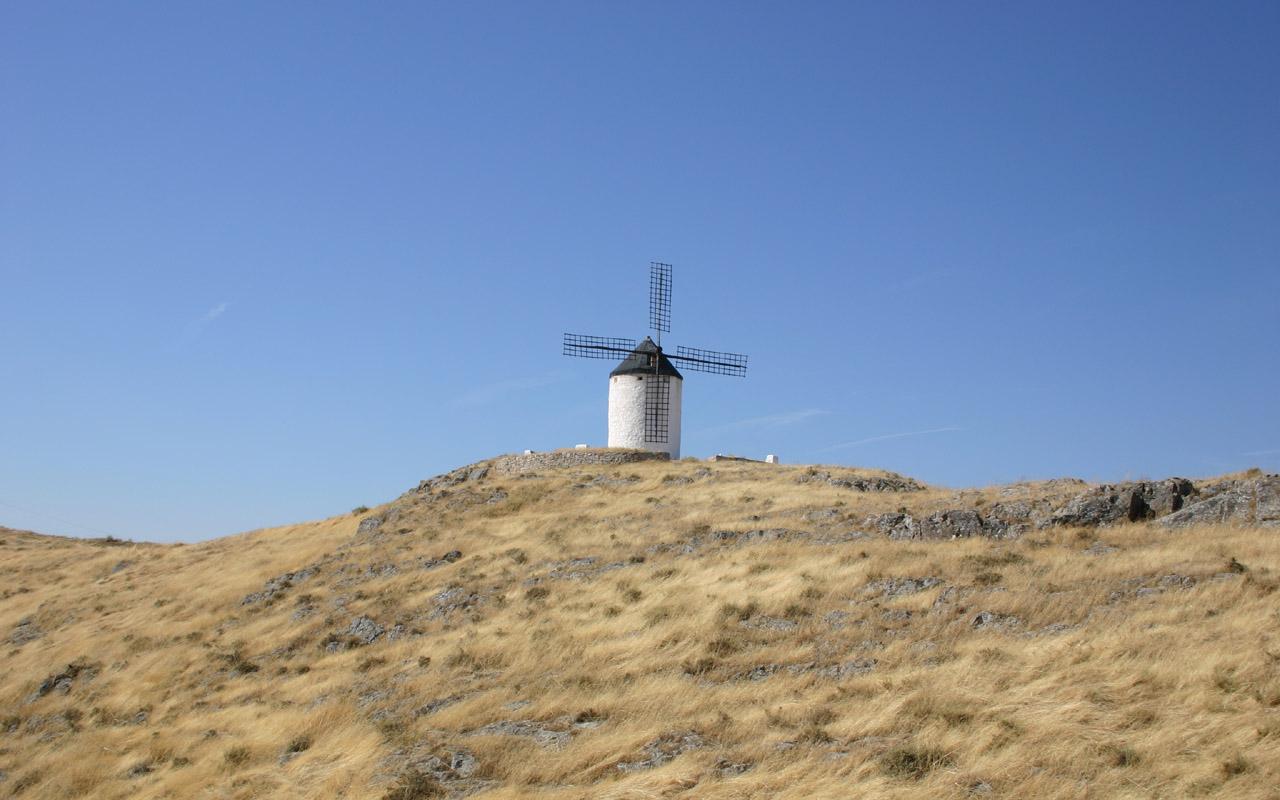コンスエグラ風車